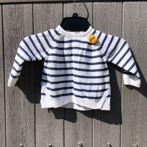Zara baby striped knit sweater